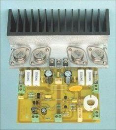 Hifi Amplifier, Class D Amplifier, Loudspeaker, Audiophile, Hobby Electronics, Electronics Projects, Amplificador 12v, Electronic Engineering, Electronic Circuit