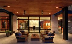Hill Country Residence modern patio