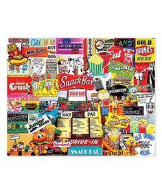 Love this Snack Bar 1,000-Piece Puzzle on #zulily! #zulilyfinds