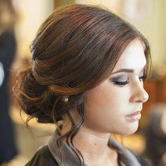 Got to do my cute receptionist's hair and makeup for prom today! #hairandmakeupbysteph @jordanmarienovak #Padgram