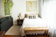 How to Create a Separate Bedroom in a Studio Apartment | Apartment Therapy