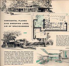 Plan 1809 Architect John Randall McDonald sq ft 1480