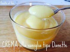 Crema alla vaniglia tipo danette