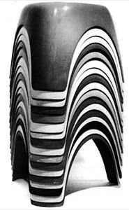 Sori Yanagi, elephant stool , 1954