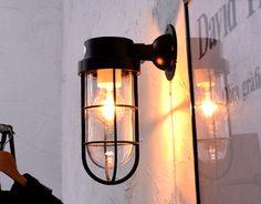 おしゃれなブラケットライト「NAVE」の画像 Candle Lanterns, Candles, Industrial Style, Lamp Light, Wall Sconces, Lighting Design, Lightning, My House, Wall Lights