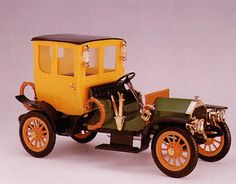 Bianchi car. (Guisval) Die-cast.