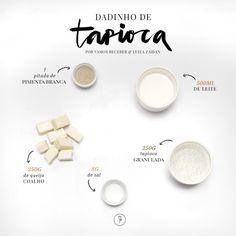 Tapioca é uma paixão por aqui e hoje a receita é do maravilhoso Dadinho preparado com esse [...]