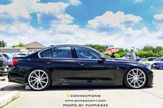 "BMW F30 on 20"" CVT's"
