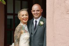 Rock n Roll Bride (and Groom!) - Claire O'Rorke Photography