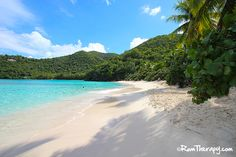 Hawksnest Bay, St. John - great for picnics, swimming, snorkeling and relaxing in the shade of the lush foliage...