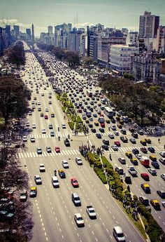 widest avenue in the world America City, Latin America, Places To Travel, Places To See, Travel Destinations, Tango, Southern Cone, Visit Argentina, Backpacking South America