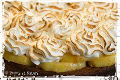 Tarte meringuée aux pommes et caramel beurre salé © Popote et Nature