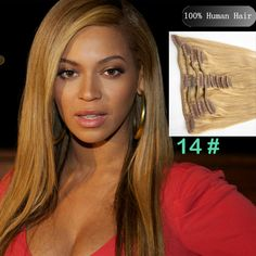 Sina Beauty Cheap Real African American 20 inch Clip In Remy Human Hair  Extensions Color inch  set 10 Straight Hair for Women Beauty    Continue to  the ... 96ca07b99
