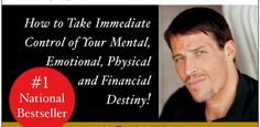 Awaken the Giant Within : How to Take Immediate Control of Your Mental, Emotional, Physical and Financial Destiny!  One of the best self-help books out there. This one is a classic.   #TonyRobbins #SelfHelp #Books #Personal #Transformation