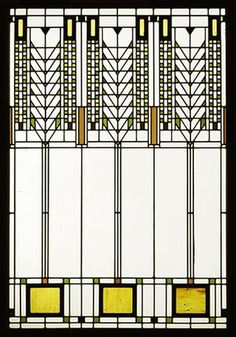 frank lloyd wright designs stained glass - Google Search