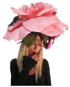 Betsey Johnson-Kentucky Derby hat  -Love it!