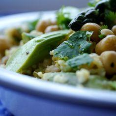 Orientalischer Spargel-Hirse-Salat