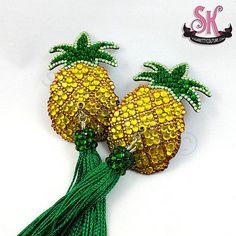 Pineapple Rhinestone Nipple Pasties by sugarkittycorsets on Etsy