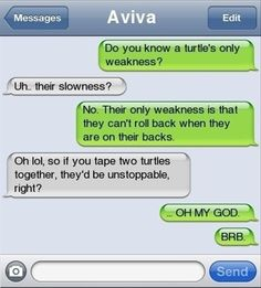 Turtles Text Message