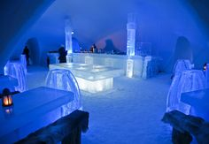 Hôtel de Glace in Quebec, Canada  From: 3 Ice Hotels For Your Honeymoon (No, Seriously!)