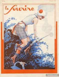 D'Es - D'Espagnat. Le Sourire, 29 Octobre 1932. [Pinned 3-viii-2015]