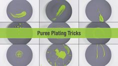 Learn how to plate up puree like a pro. Ever wonder how chefs artistically plate up their sauces or puree? In this video, you will learn 9 easy but stunning ...