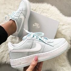 san francisco f54a0 ea7d9 baby blue nikes   nike   nike shoes    nike   sneakers Sneakers Outfit Nike