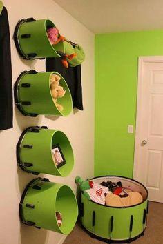 Drum storage                                                                                                                                                                                 More