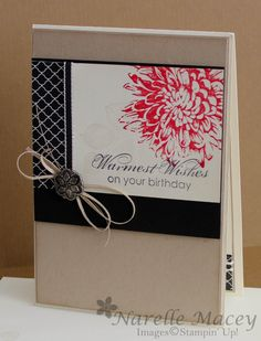By Narelle Macey - INKspired Sketch Blog Hop 4, Stampin'Up! Blooming with Kindness
