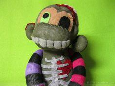 Zombie sock monkey? Ah yeah!