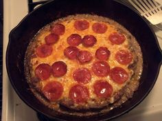 Can't have Pizza? Eat Meatza! Its the same pizza you know and love but the crust is made out of meat! In any meat base if it calls for almond flour replace with Parmesan