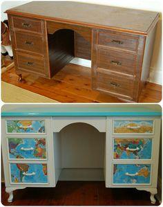 Furniture makeover by Madeline.
