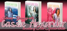 Bookish: Release Day Promo: Interview + Giveaway with Cassie Alexander, the author of Edie Spence series