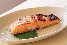 Grilled Salmon Shio Koji Marinade