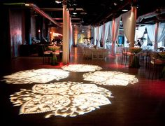 Love this setup with a #gobo #monogram at this #uplighting #wedding #reception! #diy #diywedding #weddingideas #weddinginspiration #ideas #inspiration #rentmywedding #celebration #weddingreception #party #weddingplanner #event #planning #dreamwedding via #rhondapattonweddings