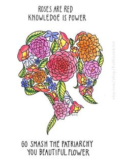 Smash the Patriarchy Note Card set – feminist – feminism – beauitful – flower – girl power Feminism Quotes, Activism Quotes, Feminist Af, Smash The Patriarchy, Intersectional Feminism, Knowledge Is Power, Flower Prints, Girl Power, Note Cards