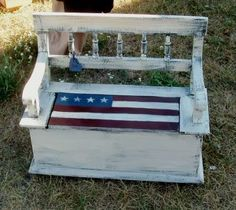 White Flag bench