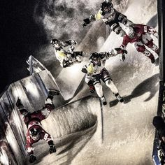 It's warm outside but we still feel crashed ice