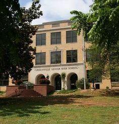 Greenville Senior High School this is where we met; dated for almost 4 years; fell in love and decided to marry