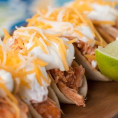 Bite-Size Chicken Tacos