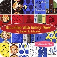 #3 - Nancy Drew Quilt. I have 2 layer cakes and some yardage for the backing, but haven't decided on a pattern yet.