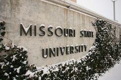 My winter wonderland next year! love Missouri state university #msu