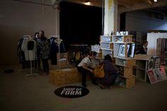Shop of Form at Remade Market 27 October 2013. Lodz Design Festival 2013