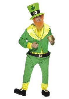 Men's Irish Fancy Dress Leprechaun Costume St Patrick's Day Green Outfit Stag Do Costume Leprechaun, Irish Leprechaun, Halloween Fancy Dress, Halloween Kostüm, Halloween Outfits, Halloween Costumes, St Patrick's Day Costumes, Adult Costumes, Green Goblin