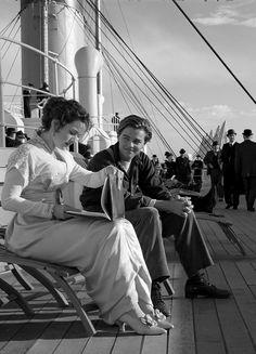 Titanic réalisé par James Cameron avec Leonardo Dicaprio et Kate Winslet (1997)