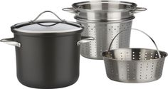 Crate & Barrel Calphalon® Contemporary Nonstick Multipot with Lid