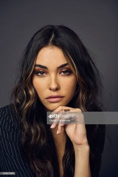 Estilo Madison Beer, Maddison Beer, Madison Beer Outfits, White Blonde Hair, Brunette Girl, Aesthetic Girl, Face And Body, Dyed Hair, Pretty People