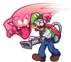 Luigi's Mansion by KetrinDarkDragon on DeviantArt Super Mario And Luigi, Super Mario World, Green Warriors, Luigi's Mansion 3, Mario Fan Art, King Boo, Mario Brothers, Cool Art Drawings, Super Smash Bros