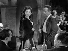 Ava Gardner and Humphrey Bogart, The Barefoot Contessa (1954).