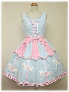 Angelic Pretty / Jumper Skirt / Carnival JSK